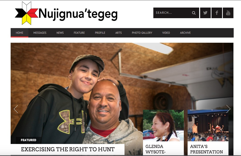 Nujignua'tegeg Homepage